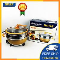Chảo điện đa năng Matika cao cấp MTK-9032 - Hàng chính hãng