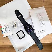 Miếng dán kính cường lực Full màn hình 3D BASEUS cho Apple Watch - Hàng nhập khẩu.