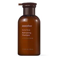 Dầu Gội Cho Da Đầu Dầu Innisfree My Hair Recipe Refreshing Shampoo For Oily Scalp 330ml-131170696