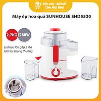 Máy Ép Trái Cây Sunhouse SHD5520 - Đỏ - Hàng chính hãng