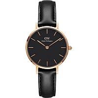Đồng hồ nữ DANIEL WELLINGTON PETITE SHEFFIELD ROSE BLACK 28MM DW00100224