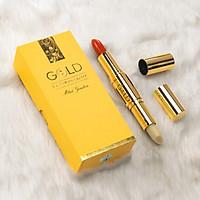 Son GOLD 2 Đầu Màu Đỏ Thuần [Chính Hãng]  Mini Garden