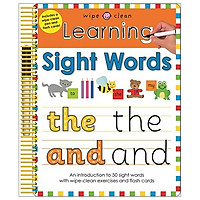 Learning Sight Words: Wipe Clean Spirals (Wipe Clean Learning)