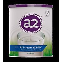 Sữa A2 Úc Full Cream Milk Giàu Canxi, Chứa Vitamin A, D, Sắt, Acid Folic Cùng Hàm Lượng Dinh Dưỡng Cao Và Nguyên Kem Giúp Cơ Thể Được Bổ Sung Đầy Đủ Chất Nuôi Dưỡng Cơ Thể Toàn Diện, Phát Triển Não Bộ, Phát Triển Và Phòng Loãng Xương – Hộp 850g