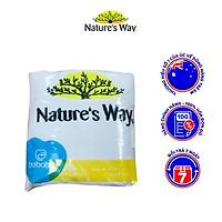 Khăn Tắm Cho Bé NATURE'S WAY Chất Liệu Cotton Siêu Mềm Mịn, Nhẹ Và Thấm Hút Tốt
