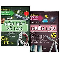 Combo 2 cuốn kiến thức bổ ích cho bé yêu: Khoa Học Khắp Quanh Ta - Hiểu Hết Về Lực + Khoa Học Khắp Quanh Ta - Nhiêu Liệu