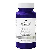 Thực Phẩm Chức Năng Viên Uống Trắng Da Sakura L-Glutathione Reduced (60 Viên)