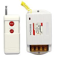 Bộ công tắc điều khiển từ xa 1Km 30A/220V (6220ZR-Nút đỏ)