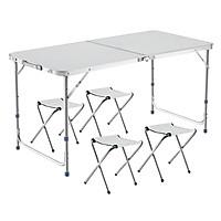 Bộ bàn ghế Gấp Gọn Siêu Nhẹ du lịch, dã ngoại, đi câu cá hoặc tiệc nướng ngoài trời bằng nhôm - Model T2-PLUS