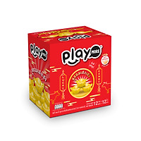 Hộp 12 gói kẹo may mắn Playmore 12g, gói kẹo bao lì xì 2021 nhập khẩu chính hãng Thái Lan, quà Tết cao cấp