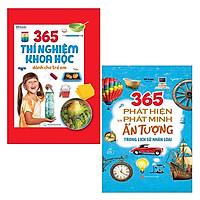 Bộ Sách 365 Phát Hiện Và Phát Minh Ấn Tượng Trong Lịch Sử Nhân Loại + 365 Thí Nghiệm Khoa Học Dành Cho Trẻ Em (Bộ 2 Cuốn)