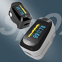 Máy đo huyết áp kẹt ngón tay kỹ thuật số Màn hình OLED màu kép đo nồng độ Oxy, SpO2 trong máu SpO2 Pulse Oximeter A2