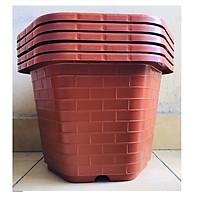 5 Chậu Nhựa Trồng Cây Cảnh, Hoa FA-450 Bình Thuận Plastics