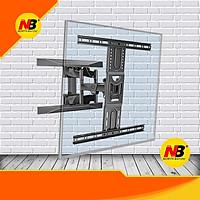 Giá treo ti vi có tay kéo XOAY TRÁI PHẢI NBP6- 2021 cho ti vi 45 -75 inch (Northbayou VIỆT NAM phân phối chính hãng )