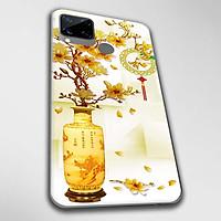 Ốp lưng dành cho Realme C11, Realme C12, Realme C15, Realme C17 mẫu Chậu sứ vàng