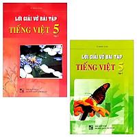 Combo Lời Giải Vở Bài Tập Tiếng Việt Lớp 5: Tập 1 Và 2 (Bộ 2 Tập)