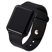 LED Square Casual Digital Watch with Rubber Band Sports Wrist Watches for Man Woman (colors optional)