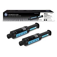 Hộp mực in đôi máy in laser HP W1103AD  dùng cho dòng HP Neverstop 1000A, 1000W, 1200A, 1200W) – 2* 2500 trang - Hàng Chính Hãng