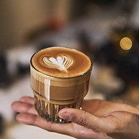 Bộ 3 ly thủy tinh cường lực cao cấp Libbey Duratuff Rock dung tích 266ml, pha Cafe Capuchino, Latte, sinh tố. Kích thước: Cao 8.5cm, đường kính miệng 8cm