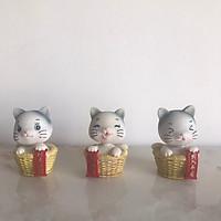 Bộ 3 chú mèo đầu lắc lư