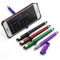 Bút đa năng 3 in 1 mẫu mới tích hợp giữa bút bi, giá đỡ điện thoại, thiết bị cảm ứng màn hình điện thoại siêu tiện lợi ( giao màu ngẫu nhiên)