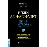 Từ điển Anh – Anh- Việt (bìa đen mềm) (Tặng Bookmark xinh xắn)