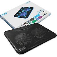 Đế tản nhiệt laptop Cooling N130 - Quạt Tản Nhiệt Có Led - Hàng Nhập Khẩu