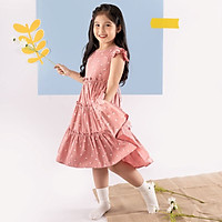 Váy đầm cho bé gái cao cấp Econice V012. Size 5, 6, 7, 8, 10 tuổi mặc mùa hè