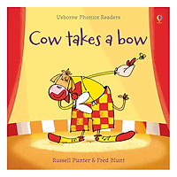 Usborne Cow takes a bow