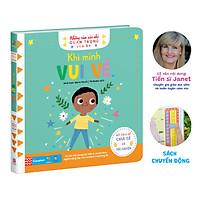 Sách lật mở chuyển động - Những cảm xúc nhỏ quan trọng của bé – Khi mình vui vẻ (0 - 6 tuổi)