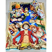 Bộ chăn gối Luffy cho bé 3-5 tuổi