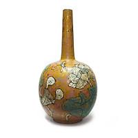 Bình hút tài lộc - Lộc bình, bình hoa gốm sơn mài Bát Tràng - Độc, lạ Gốm Bát Tràng Olympia