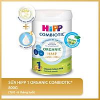 Sữa bột công thức HiPP 1 Organic Combiotic 800g