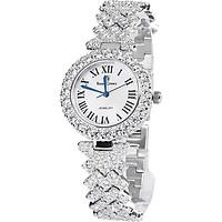 Đồng hồ nữ chính hãng Royal Crown 6305 dây đá vỏ trắng