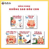Bộ 5 Cuốn Sách Heo Con Không Sao Đâu- Sách phát triển kỹ năng sống cho bé từ 3-6 tuổi