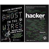 Combo Sách An Toàn Thông Tin : Bóng Ma Trên Mạng + Hacker Lược Sử