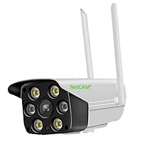 Camera Giám Sát IP Wifi Ngoài Trời NETCAM ATL2.0 2MP - Hàng Chính Hãng