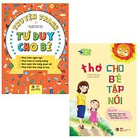 combo Truyện Tranh Tư Duy Cho Bé + Thơ Cho Bé Tập Nói