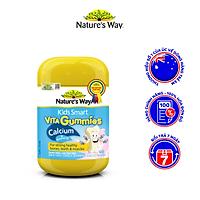 Kẹo Dẻo Canxi Cho Bé Nature's Way Kids Smart Vita Gummies Calcium + Vitamin D 60 Viên