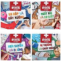 Bộ Sách Các Kỹ Năng Sơ Cứu Cơ Bản (Bộ 4 Cuốn)