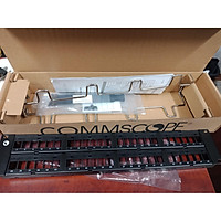 Patch panel cat6 48 port AMP (Commscope) 1375015-2 / CPP-UDDM-SL-2U-48. Hàng chính hãng
