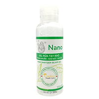 Gel Rửa Tay Khô Hand San Silver Coslive 120ml - Nano