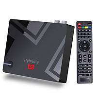 MECOOL K5 Android TV BOX DVB-T2/S2 Set-top Box Android 9.0 4K Media Player Amlogic S905X3 Quad-cord 2.4G/5G 2T2R WiFi