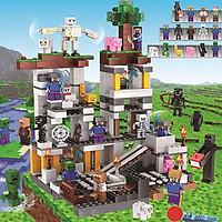 Bộ Đồ Xếp Hình Lắp Ráp My World Minecraft Mô Hình Ngôi Làng Nhỏ Và Thành Phố Tương Lai - Đồ Chơi Trẻ Em Phát Triển Tư Duy Cho Bé Trên 6 Tuổi Có Ảnh Thật