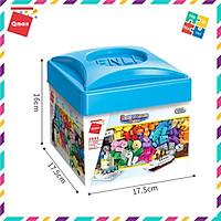 Bộ Đồ Chơi Xếp Hình Thông Minh Lego Qman Hộp Gạch Sáng Tạo Cơ Bản 2901 Cho Trẻ