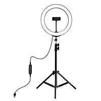 Bộ đèn LED trợ sáng điện thoại khi chụp hình, livestream Puluz PKT3035 - Hàng nhập khẩu