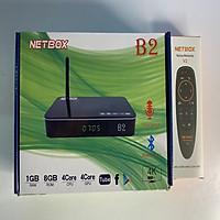 Android Tivi Box NETBOX B2 Ram 1Gb Rom 8Gb 4K UltraHD TẶNG KÈM ĐIỀU KHIỂN GIỌNG NÓI NETBOX V2 - Hàng Chính Hãng
