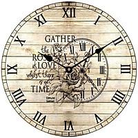 Đồng hồ treo tường phong cách cổ MS 18