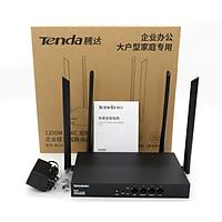 Bộ phát WIFI Tenda w15e ac1200Mps mạng doanh nghiệp 50 user - vùng phủ sóng 300m2 - nhập khẩu