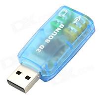 USB SOUND 5.1 - Màu Ngẫu Nhiên - Hàng Nhập Khẩu